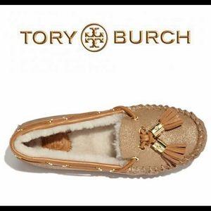Tory Burch Dee Dee Moccasin Slippers